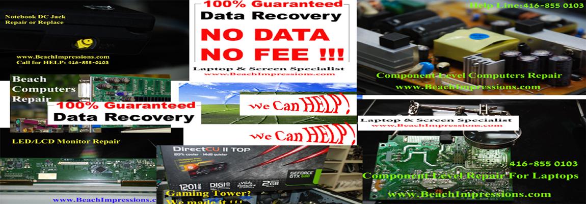 Toronto Beach Computers-Expert Data Recovery & Laptop